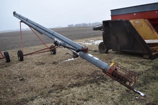 "Hutchinson 8"" top drive auger"