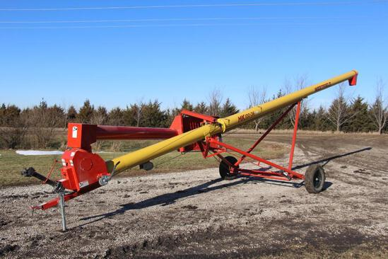 "Westfield MK100-36 10""x36' swing-away auger"