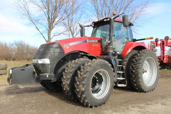 2018 Case IH 310 Magnum MFWD tractor