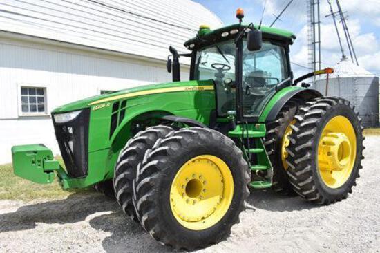 2012 John Deere 8285R MFWD tractor