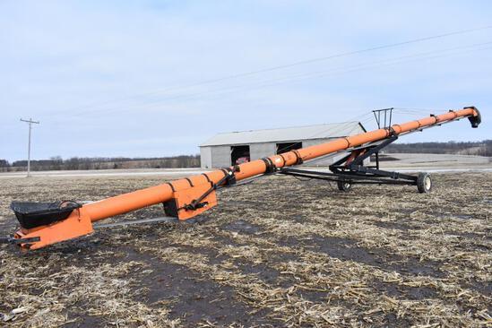 """Batco 1875 18""""x75' belt conveyor"""