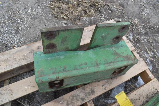 JD front weight bracket
