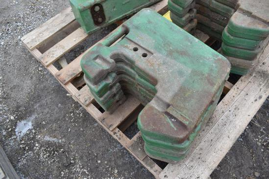 (5) JD front weights