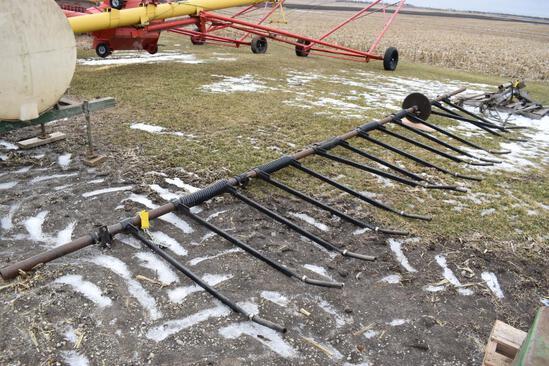 """Meteer 8 row 30"""" down corn reel"""