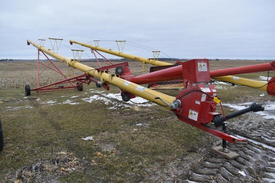 """Westfield MK100-71 10""""x71' swing-away auger"""