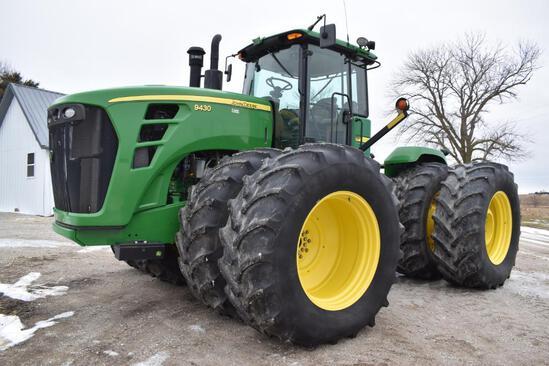 2010 John Deere 9430 4WD tractor