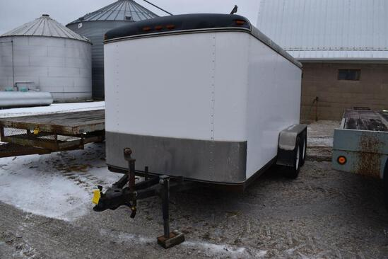14' cargo trailer