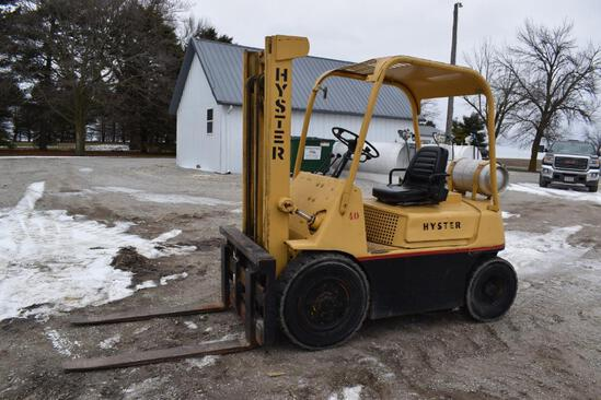 Hyster H40F 4k lbs forklift