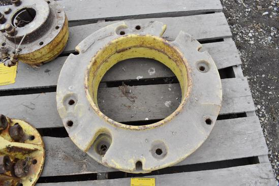 (2) JD wheel weights