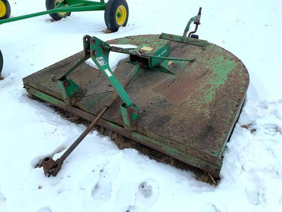 John Deere 407 Gyamor 7' 3-pt. rotary mower