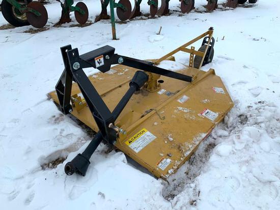 King Kutter 6' 3-pt. rotary mower