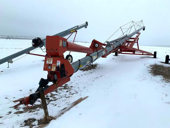 "2009 Hutchinson 10""x72' swing-away auger"
