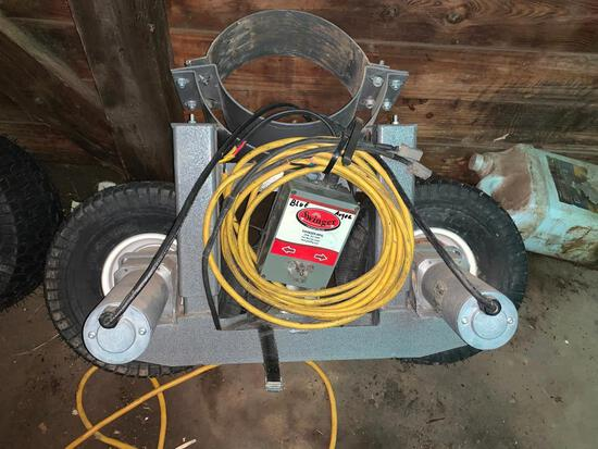 Swinger power auger swing-out