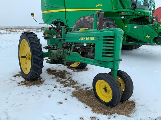 John Deere B tractor - not running