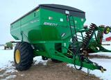 2012 Brent 782 grain cart