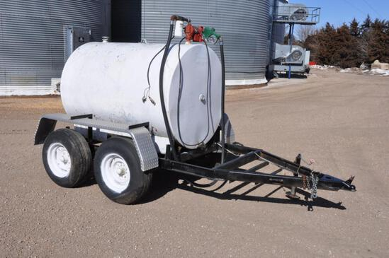 500 gal. fuel trailer