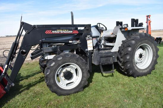 1998 White 6410 MFWD tractor