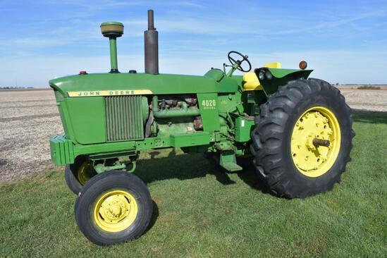 1967 John Deere 4020 2wd tractor