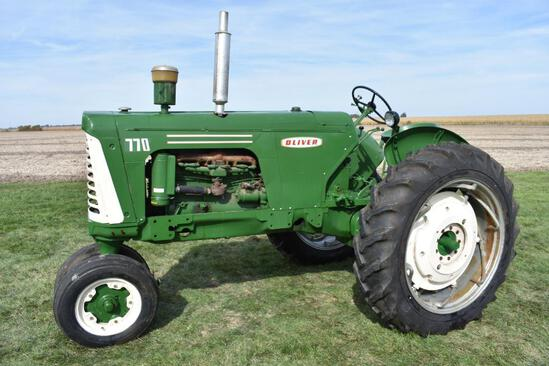 1963 Oliver 770 2wd tractor