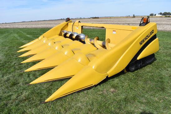 "New Holland 996 6 row 30"" corn head"