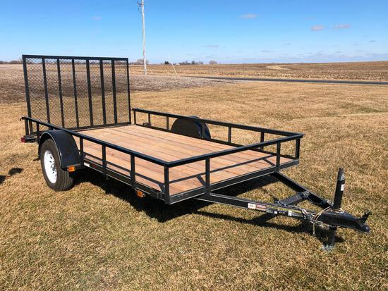 Carry-On 6'x12' flatbed trailer