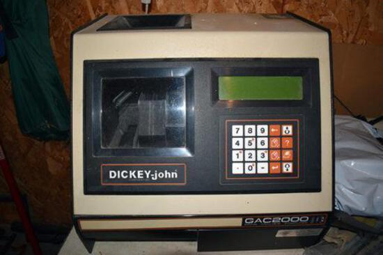 Dickey John GAC2000 grain moisture tester