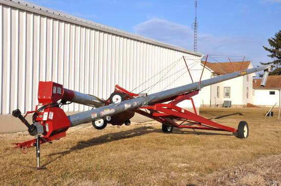 "Mayrath 10""x62' swing-away auger"