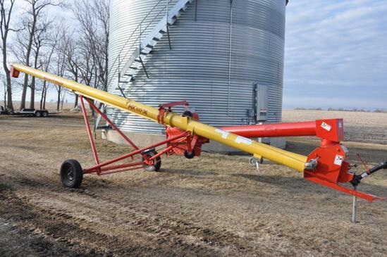 """Westfield MK100-36 10""""x36' swing-away truck auger"""