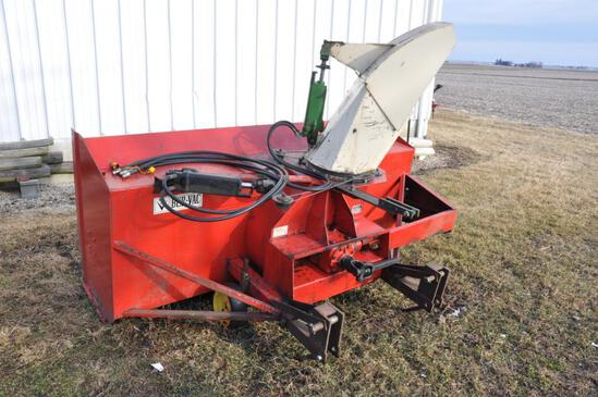 Bervac 876 8' 3-pt. snowblower