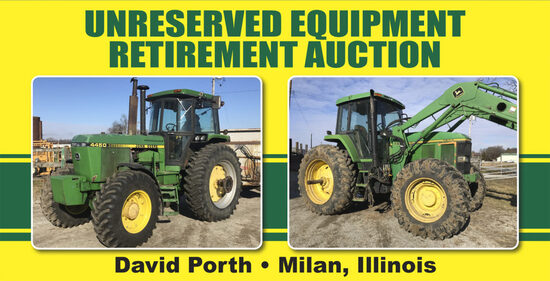 Unreserved Equipment Retirement Auction