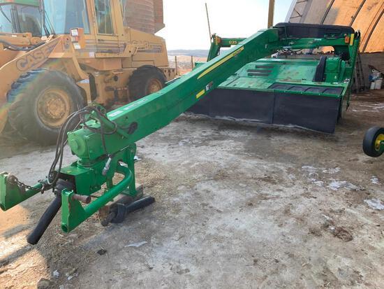 John Deere 835 mower conditioner