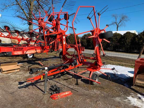Kuhn GF5202 THA 4-basket hay tedder
