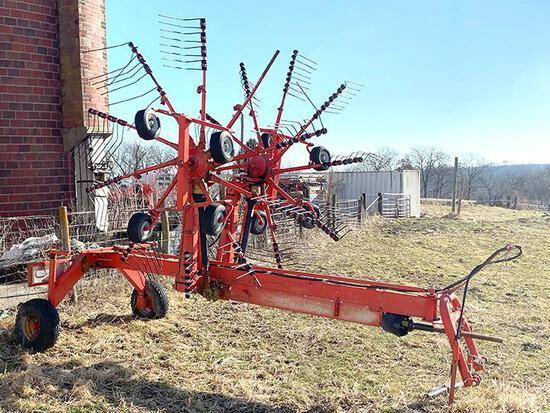 Galfre 22' 2-basket rotary rake