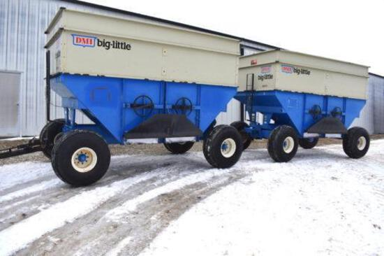 DMI Big-Little D470 gravity wagon