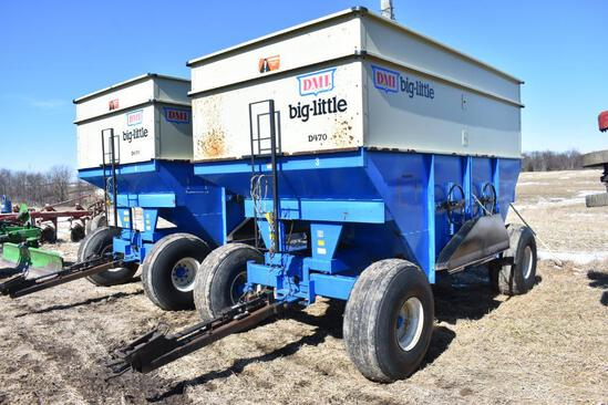 DMI Big-Little D470 gravity wagon
