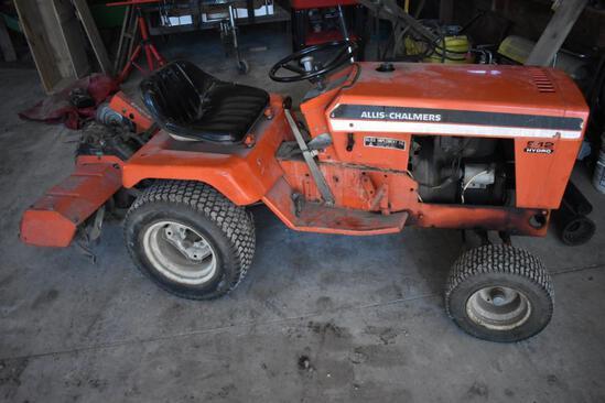 Allis Chalmers S12 garden tractor