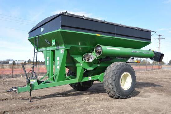 2007 Brent 1080 grain cart