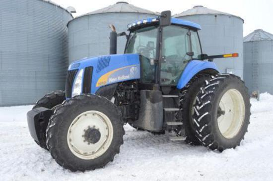 2006 New Holland TG215 Super Steer MFWD tractor
