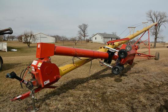 """Westfield 100-61 10"""" x 61' hyd. swing away auger"""