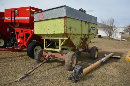 Parker 250 bu. gravity wagon on Westendorf gear