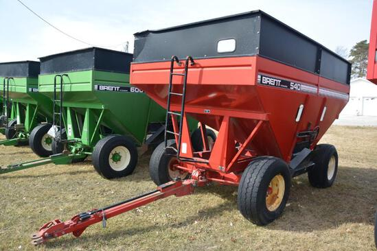 Brent GT 540 gravity wagon