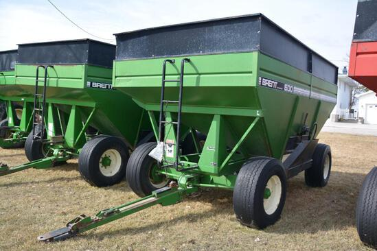 Brent GT 600 gravity wagon