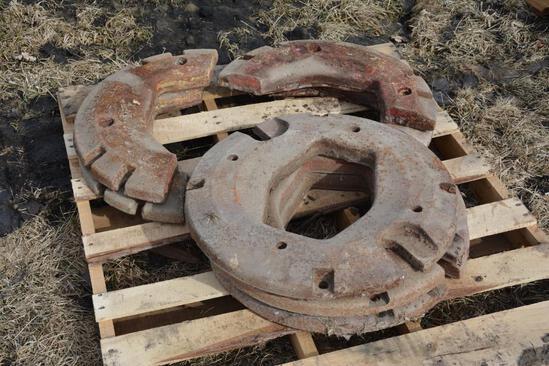 (5) Rear wheel weights