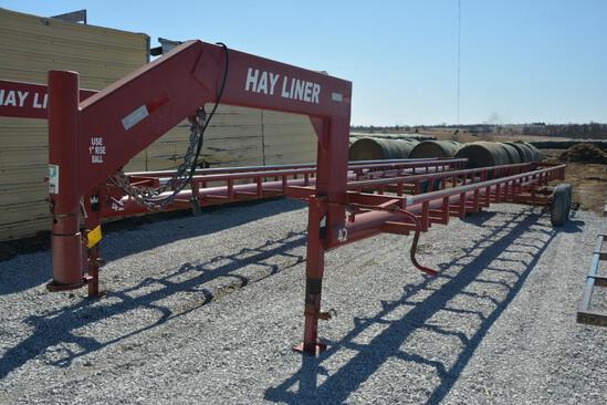 Hay Liner 42' hay trailer