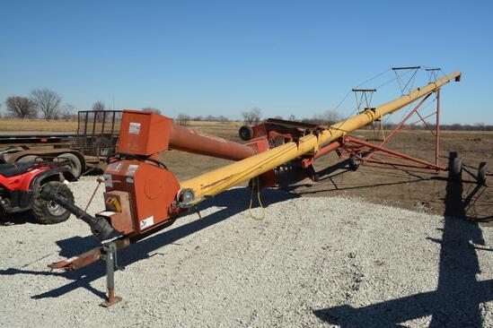 """Westfield MK100-71 10""""x71' hyd. swing away auger"""