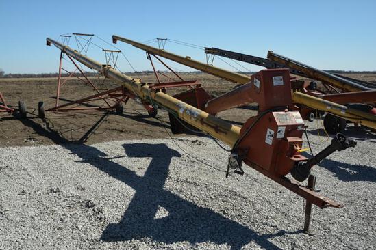 """Westfield MK100-71 10"""" X 71' hyd. swing away auger"""
