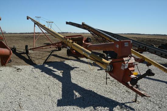 """Westfield MK100-61 10""""x61' hyd. swing away auger"""