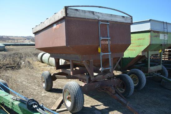 250 bu. gravity wagon on HD gear