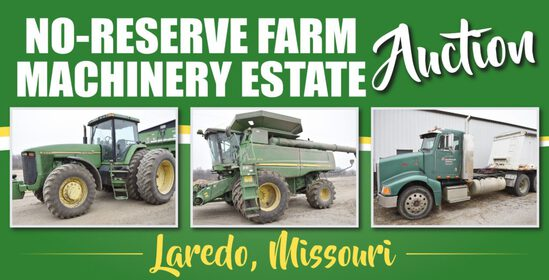 No-Reserve Farm Machinery Estate Auction