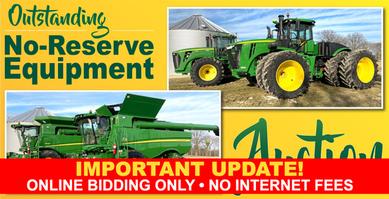 Ring 1 - Outstanding No-Reserve Equipment Auction